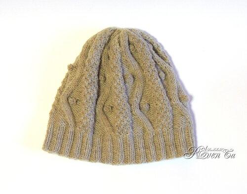 Шапка Gray Fields, Hat Gray Fields, шапка для девочки, шапка вязаная спицами, шапка спицами, roventa, roventa-handmade