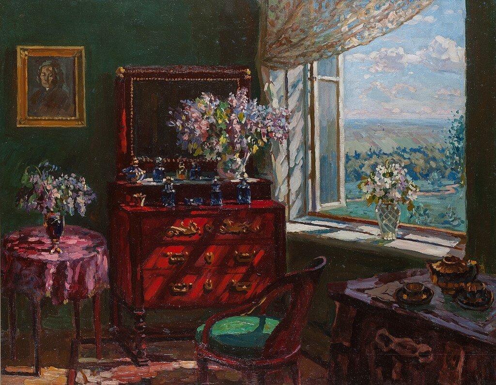 Интерьер комнаты. 1910 – 1920