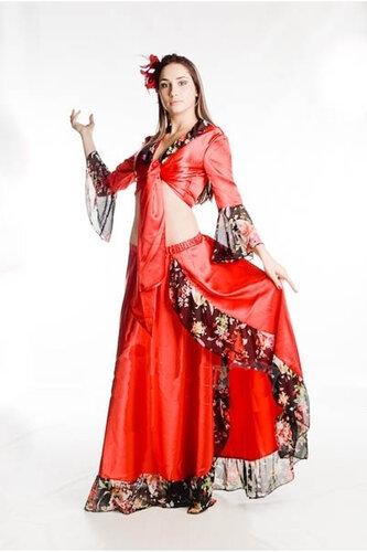 Женский карнавальный костюм Цыганка