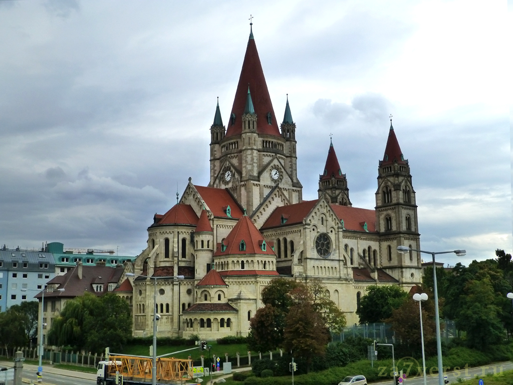 Церковь Святого Франциска Ассизского (Franz-von-Assisi-Kirche), Вена, Австрия