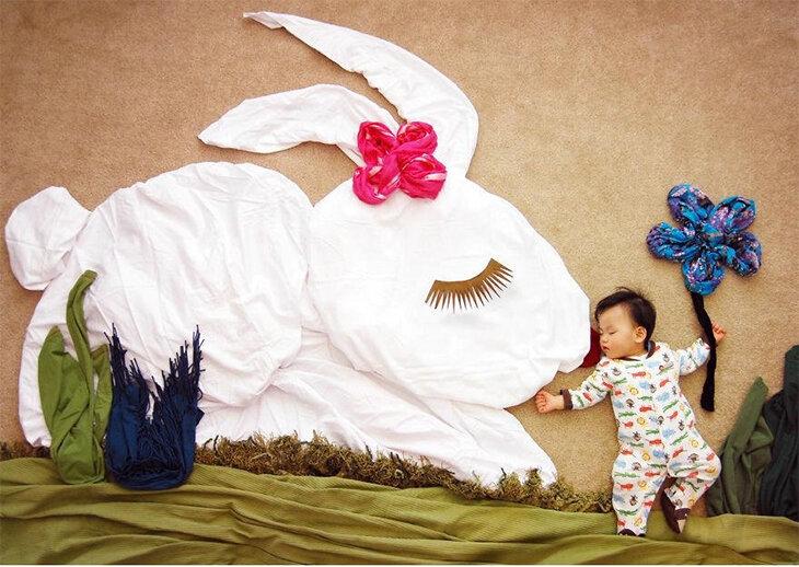 Ночные приключения младенцев (фотосессия)