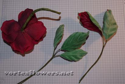 Как сделать розу из ткани, мастер-класс