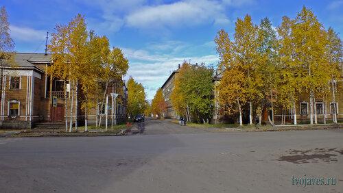 Фото города Инта №5903  Кирова 32, Чайковского 4 и Кирова 34 15.09.2013_13:12