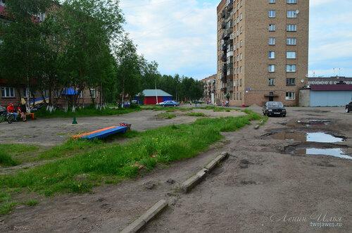 Фотография Инты №7857  Дзержинского 21, 23 и двор 19 21.06.2015_15:24