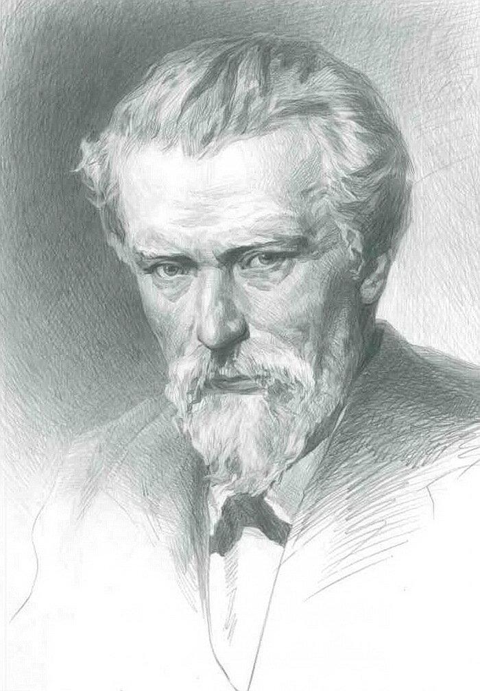Портрет русского художника владимира