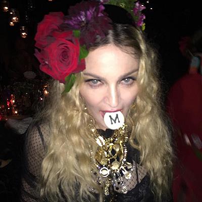 Мадонна вобразе цыганки отпраздновала собственный 57-ой день рождения
