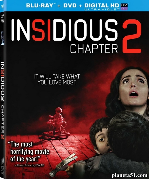 Астрал: Глава 2 / Insidious: Chapter 2 (2013/BDRip/HDRip) [Лицензия]