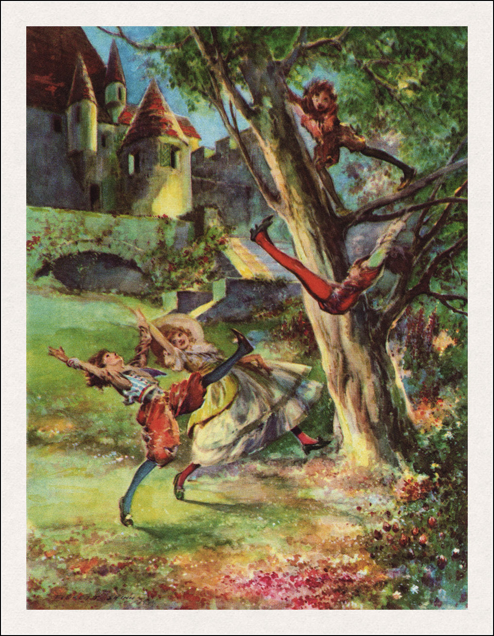 Everett Shinn, The happy prince and other tales by Oscar Wilde