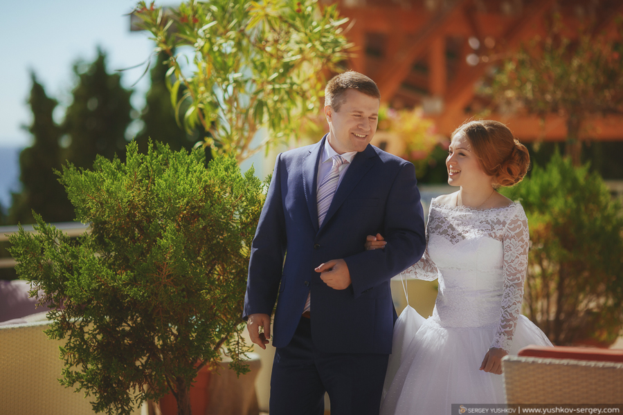 Sergei YUSHKOV wedding photographer in Crimea and Sevastopol