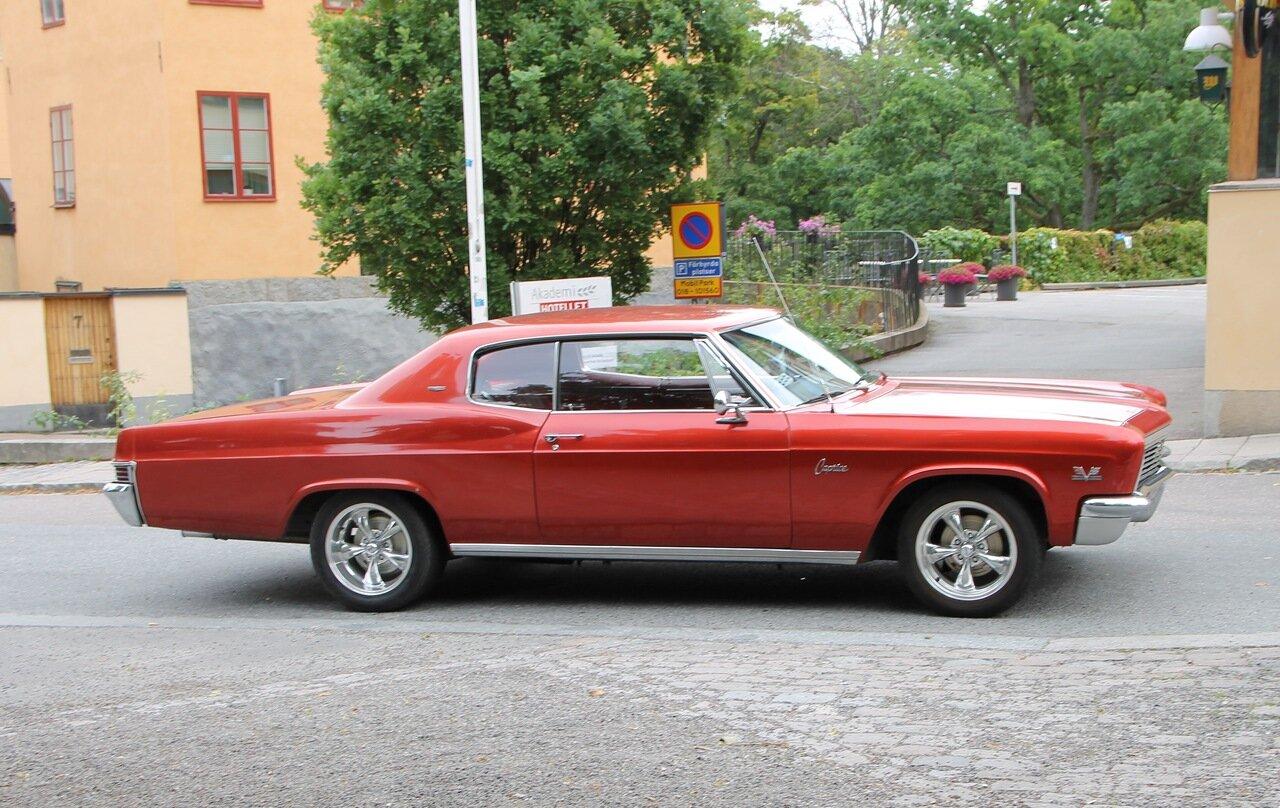 Уппсала. Uppsala. Автоклассика, Oldtimer. 1966 Chevy Caprice