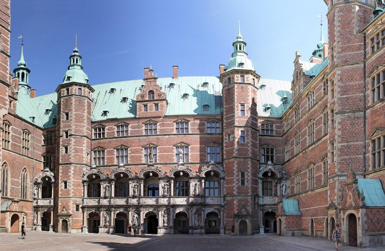 Замок Фредериксборг. Frederiksborg Slot,