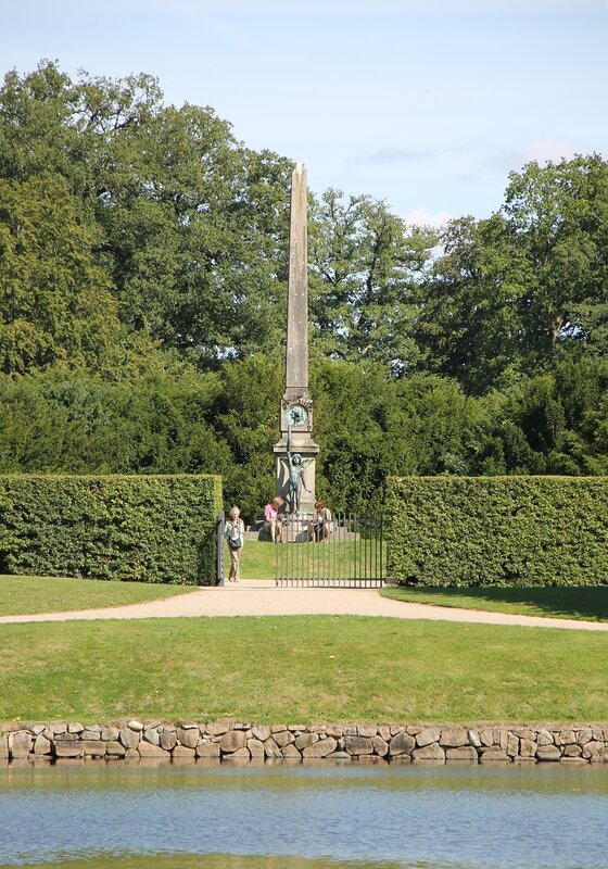 Замок Фредериксборг, Французский парк