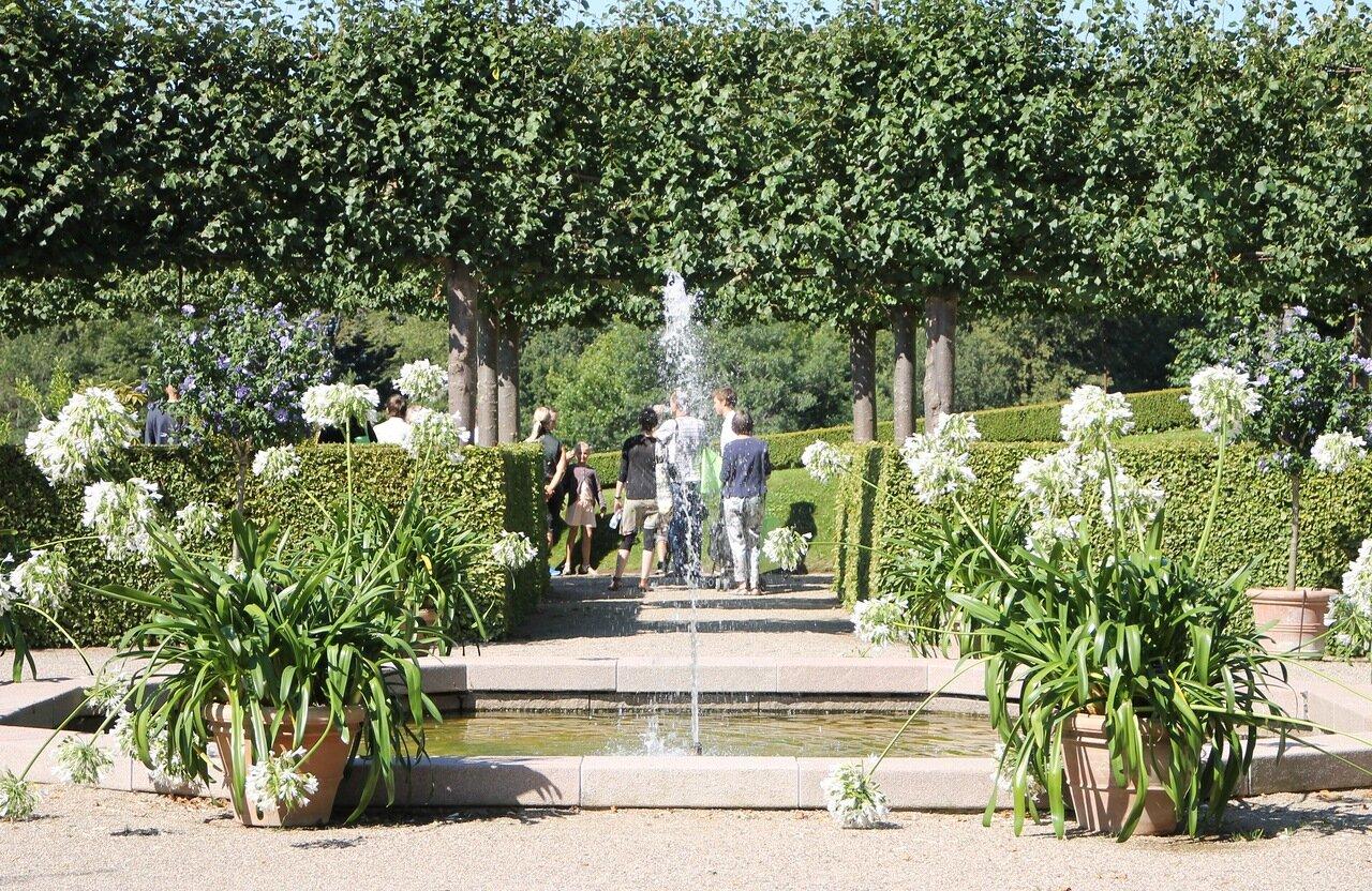Frederiksborg castle, French Park