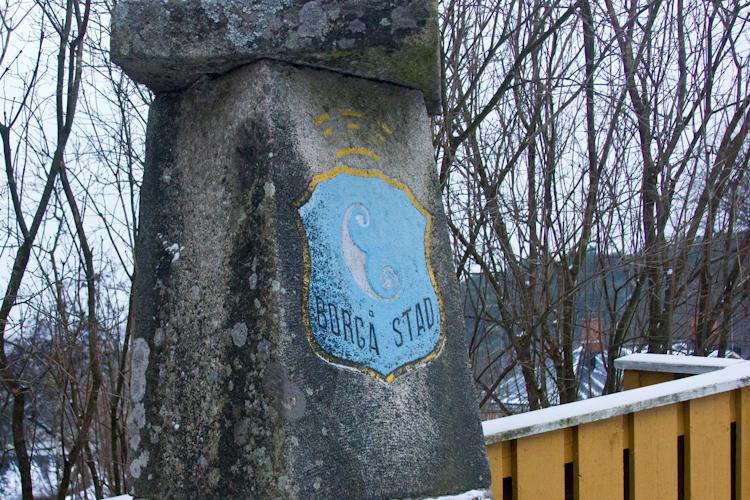 Камень основания финского города Порвоо.