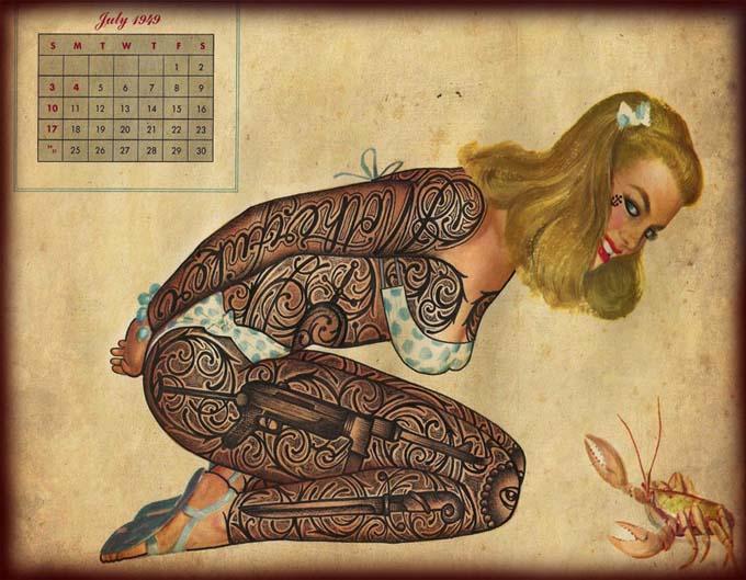 Открытки с татуировками 27