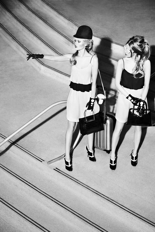 Стина Рапп Вастенсон (Stina Rapp Wastenson) и Фрида Аасен (Frida Aasen) в журнале Vogue Japan