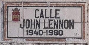 Merida_calle John Lennon