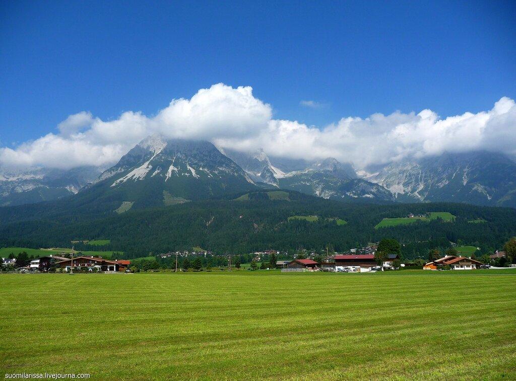 Austria. Ellmau. 30.8.2008