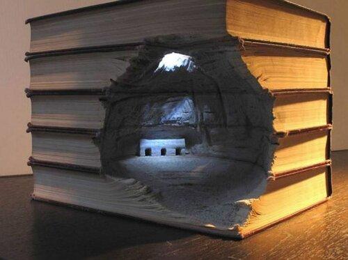 Книжные скульптуры