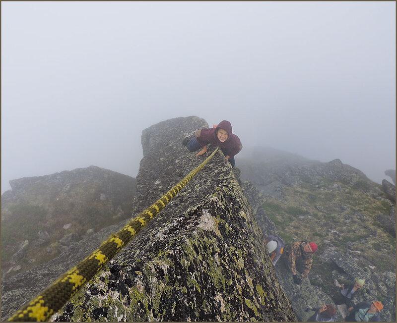 До вершины 5 метров