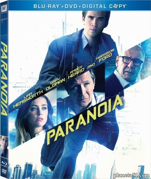 Паранойя / Paranoia (2013/BDRip/HDRip) [Лицензия]