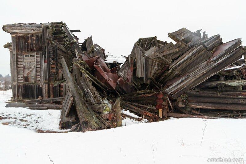Тихвинская церковь, Саминский Погост, Вологодская область