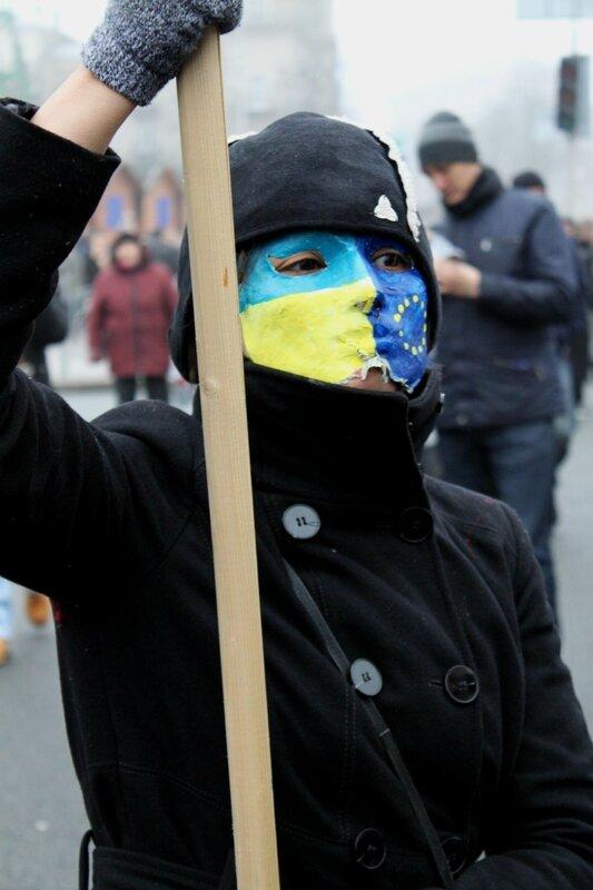 Сторонница евроинтеграции Украины