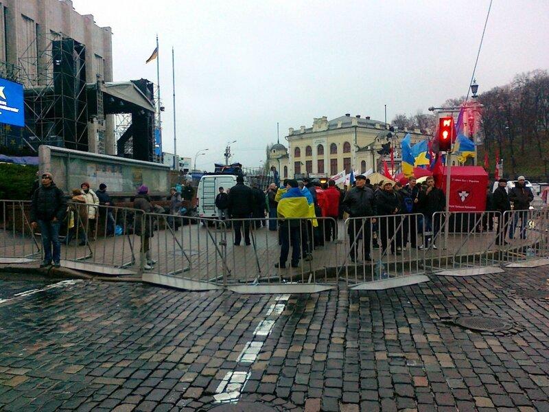 Евромайдан на Европейской площади