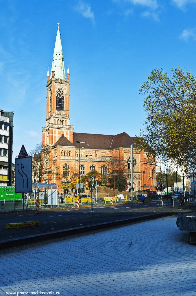Церковь Святого Иоанна в Дюссельдорфе. Фотопрогулка по центру города.