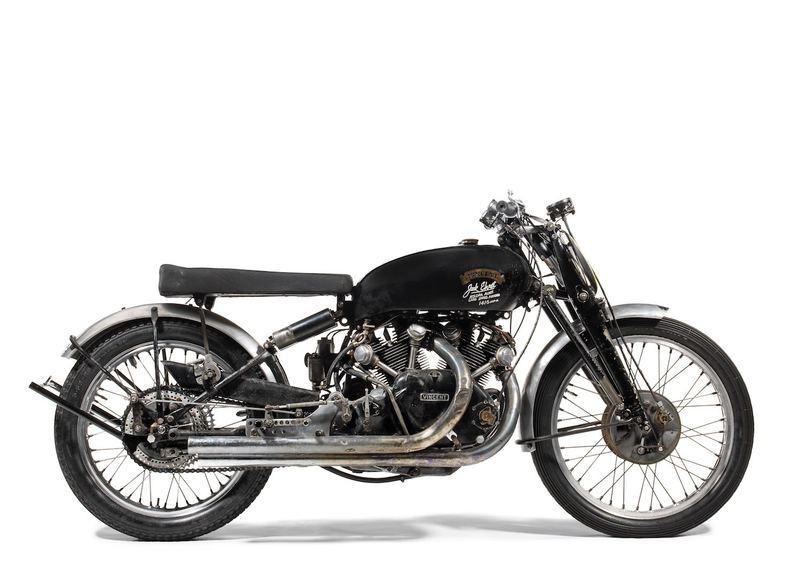 Гоночный мотоцикл Vincent Black Lightning 1951 Джека Эрета