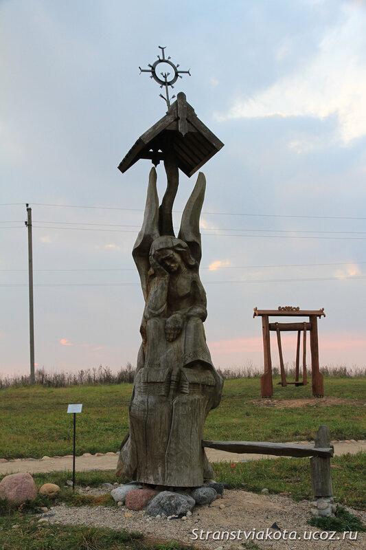 Литва, Тракай, гора Ангелов
