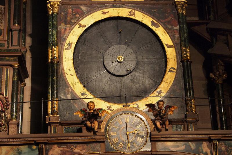 Страсбургский собор. Астрономические часы