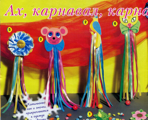 Новогодние карнавальные украшения