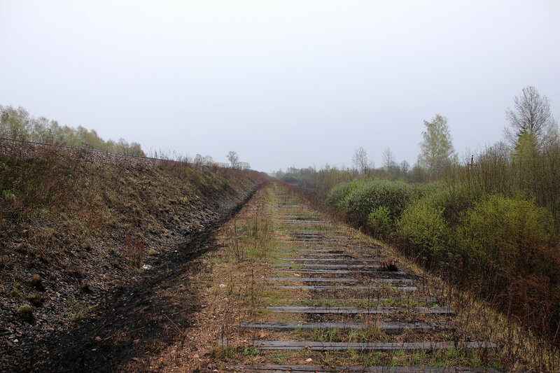 Бывший съезд со стороны Муравьёво на Вязьму