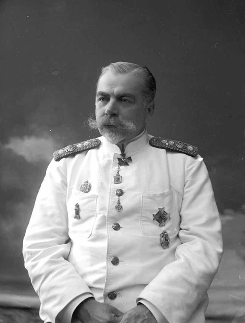 Нижегородский губернатор В.М Борзенко. 1914 г..
