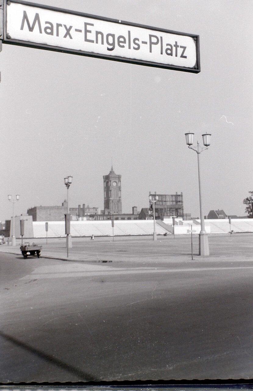 9 сентября 1959. Район площади Маркса - Энгельса, Восточный Берлин