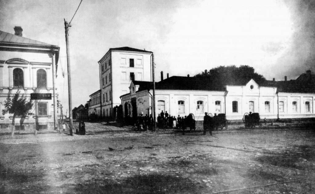 Миллионная. Татарские Бани. 1900