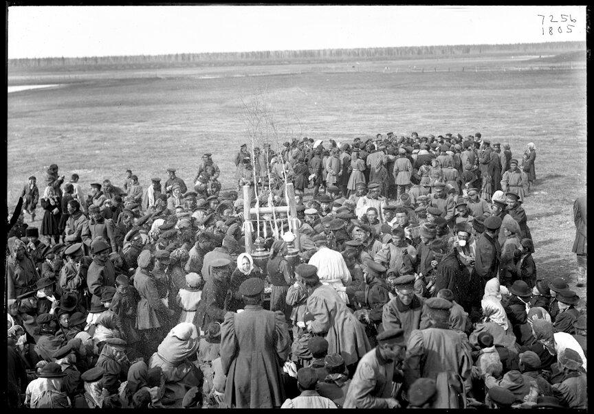 Кумыс на якутском празднике, 1902