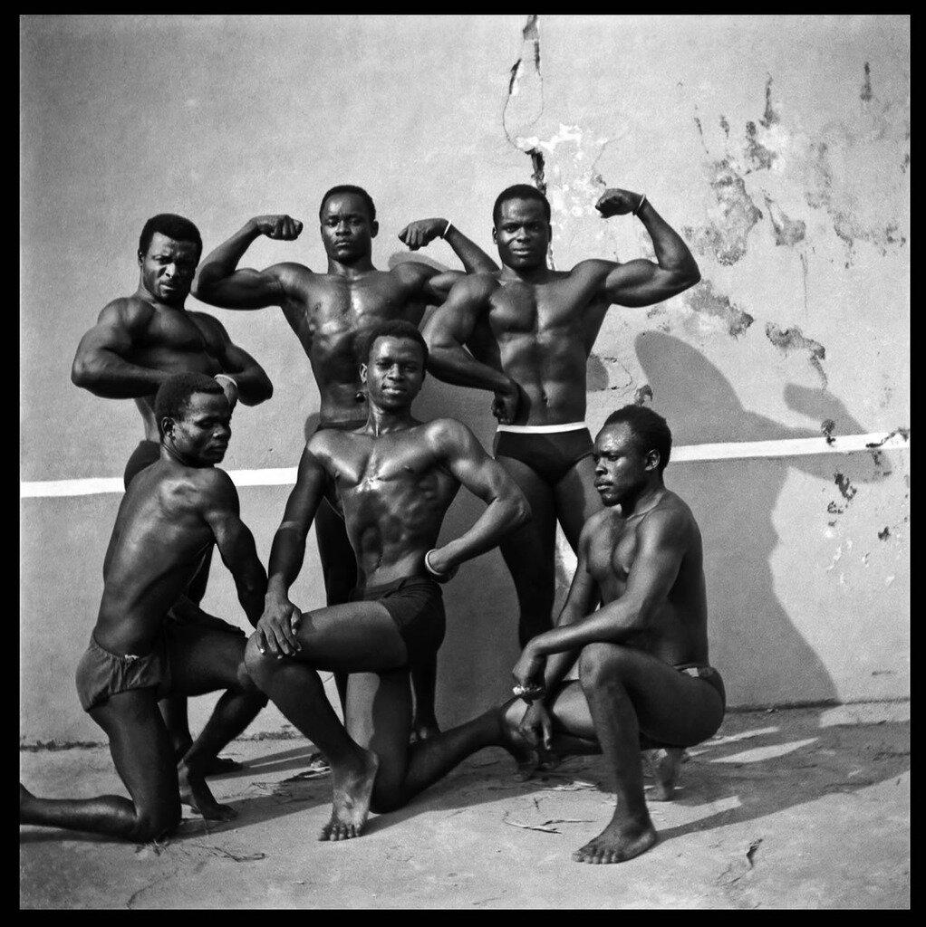 Спортсмены Киншасы