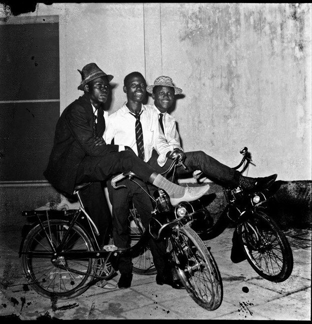 Крутые велобайкеры