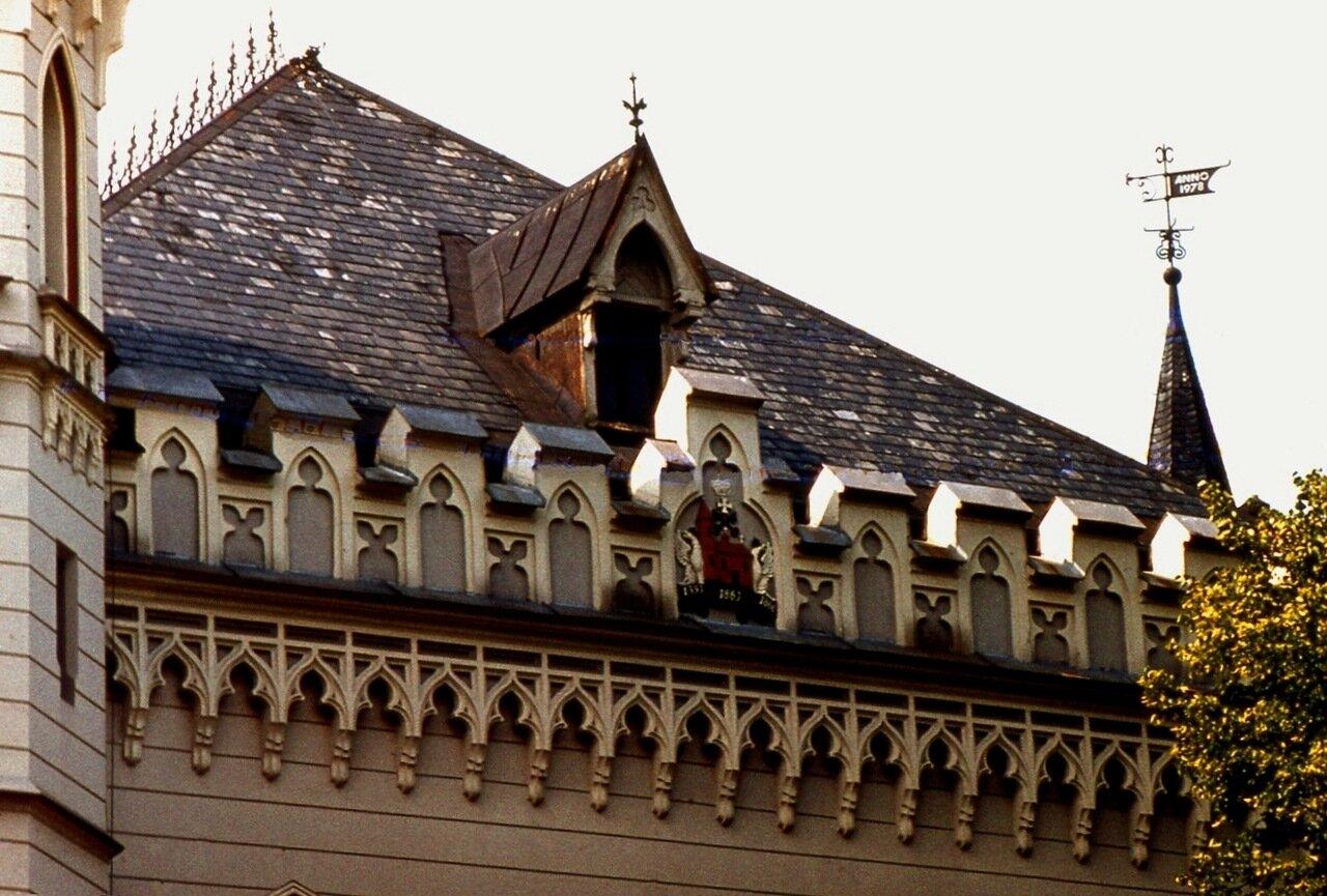 10. Фигурная  крыша
