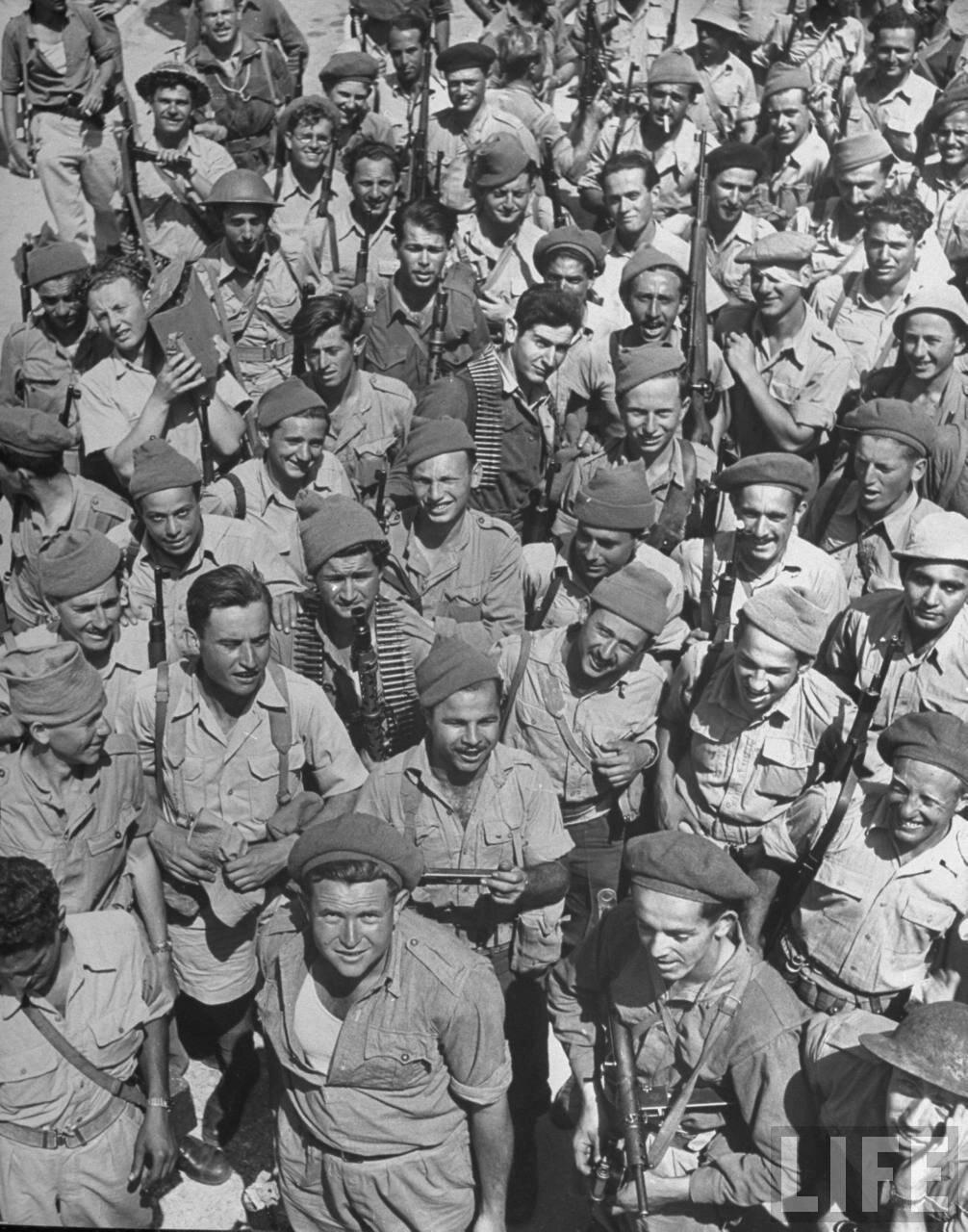 1948. Израильские солдаты