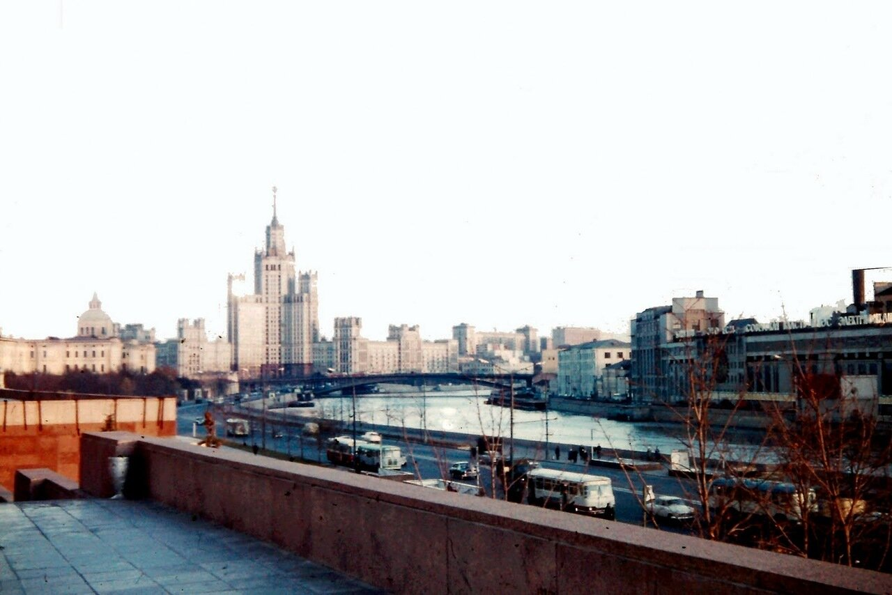 MOSCOU - La Moskova (autrefois orthographiée Moskowa en français)