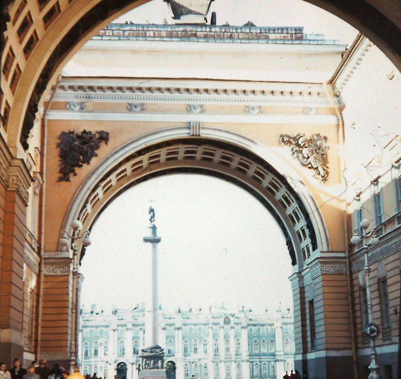 Léningrad - Entrée du Palais