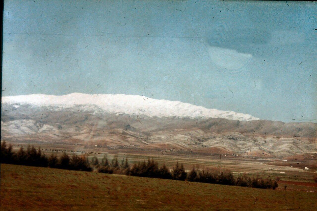 Vers la plaine de la Bekaa