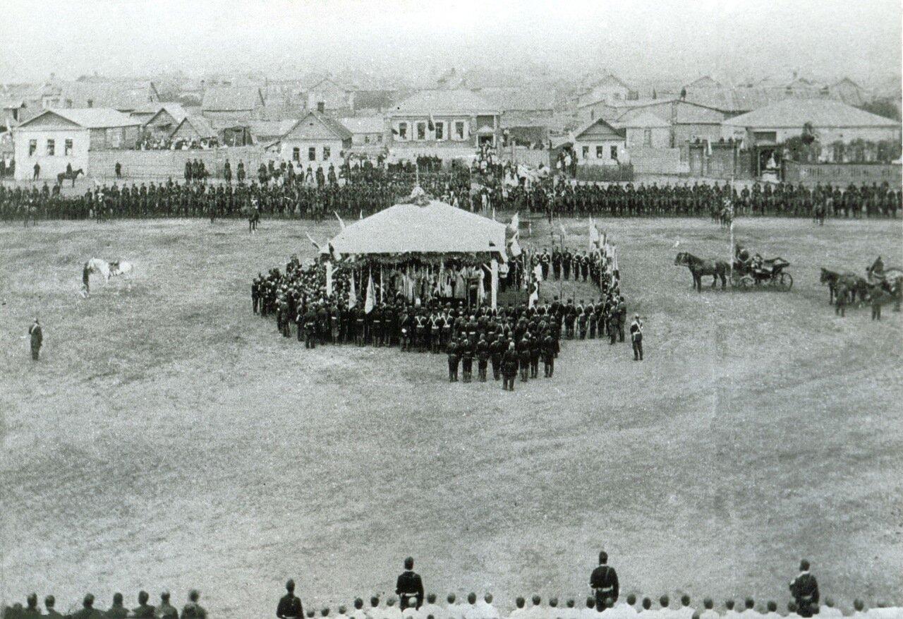 Форштадт 1 июля 1891. Визит цесаревича Николая II