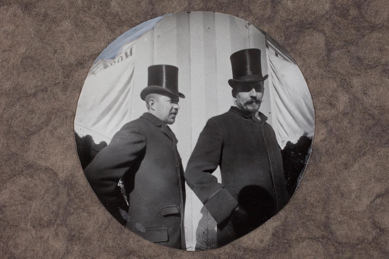 Северная Эспланада в апреле 1891.