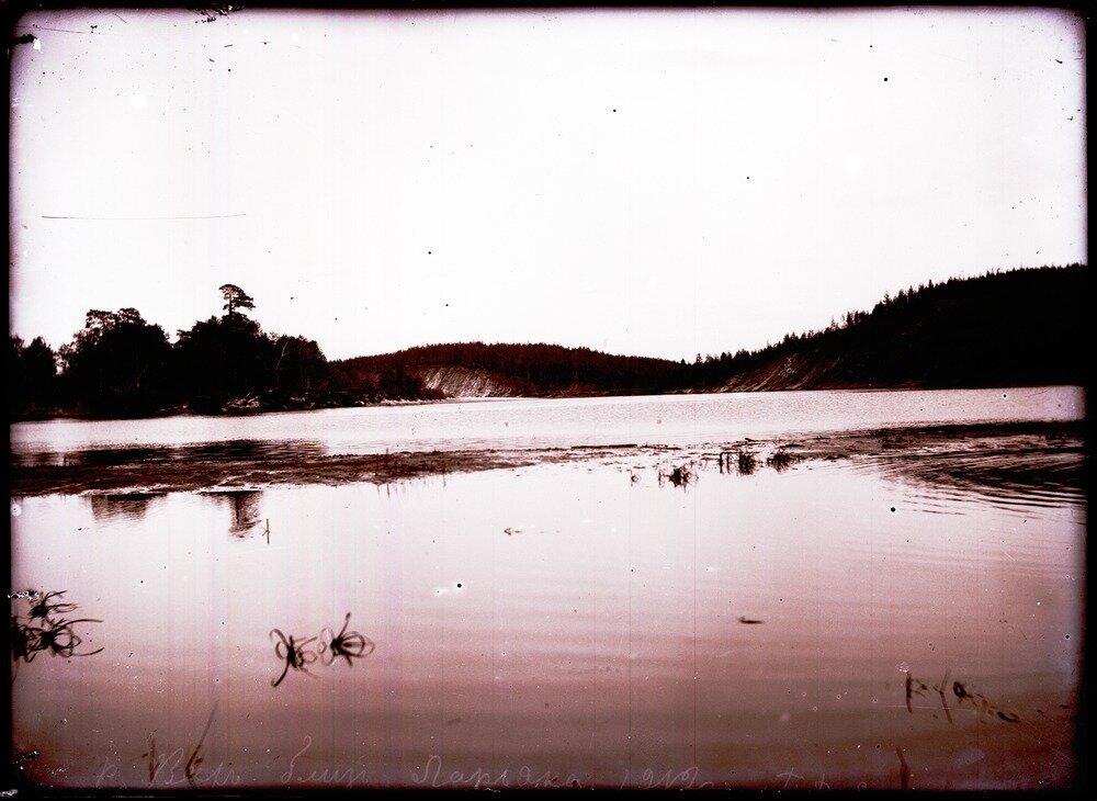 1912. Река Вах близ села Ларьяк