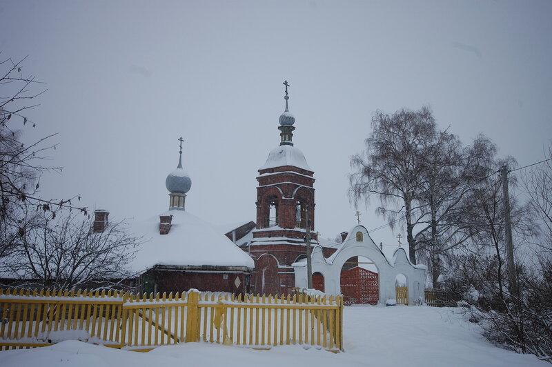 Старообрядческий Храм Успения Пресвятыя Богородицы в Елохино.