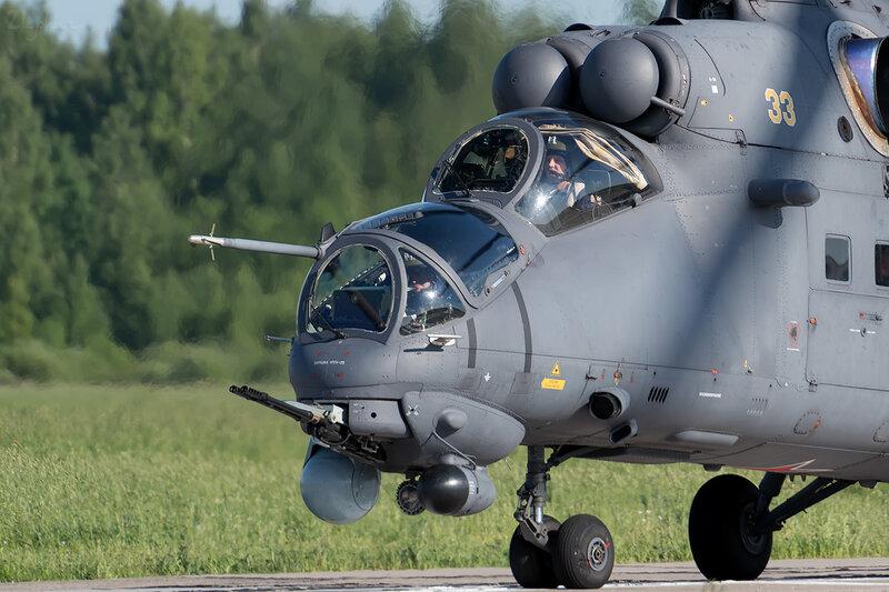 Миль Ми-35ПМ 33 (жёлтый) D801125